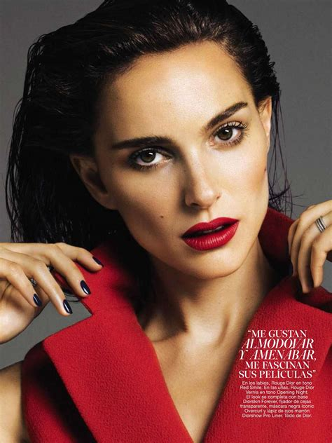 Natalie Portman Glamour Spain Magazine September 2016