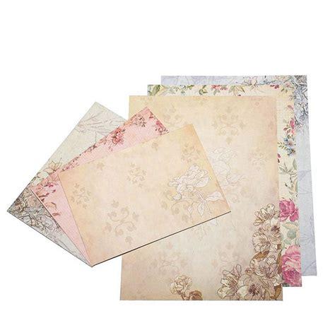 sheet vintage stationery sets  envelopes