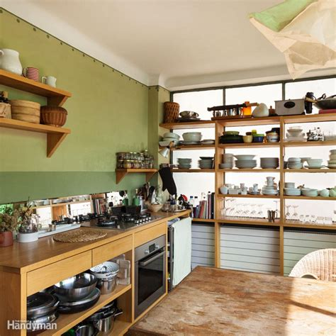 kitchen storage room ideas space saving kitchen storage ideas family handyman 6191