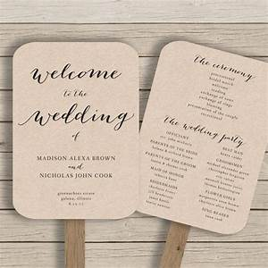 25 best ideas about fan wedding programs on pinterest With wedding programs fans templates