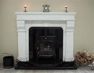 white stone fireplace bukit