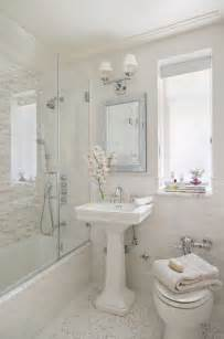 small spa bathroom ideas 20 sweet bathrooms with pedestal sinks messagenote