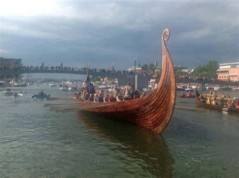 This Oseberg Viking Shipis A Hand Built Replica Of The