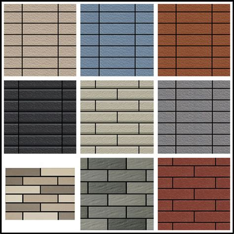 used cheap exterior wall cladding exterior wall brick