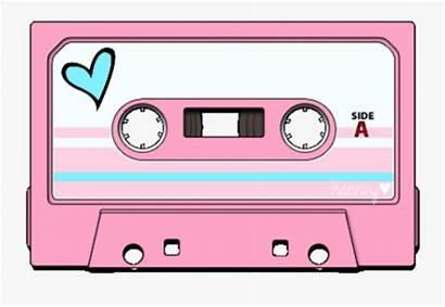 90s Cassette Clipart Tape Retro Oldschool Cassettetape