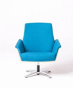 New, Retro, Modern, Wood, Backed, Swivel, Chair