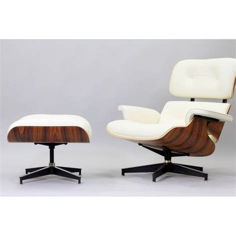 a classic eames chair in ivory mid century modern jewels