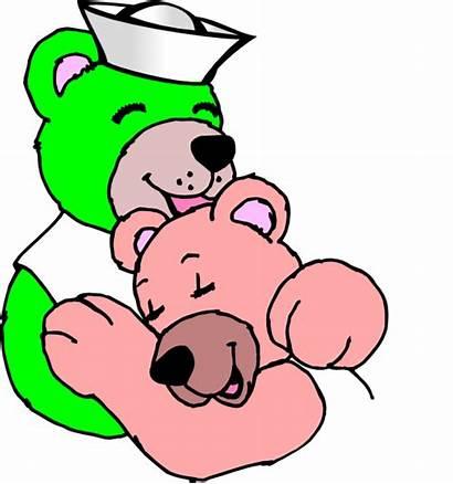 Hug Bear Clip Clipart Cartoon Sailor Clker