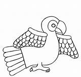Parrot Coloring Pages Inca Animal Para Printable Bird Azteca Dibujos Colour Maya Prehispanicos Cultura Sheets Arte Aztecas Birds Mexico Dioses sketch template