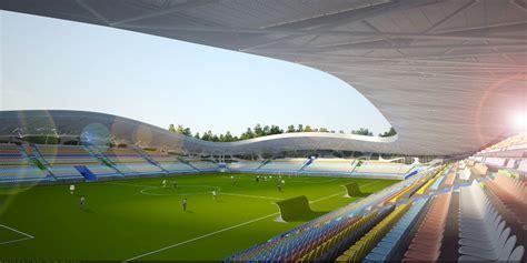 bate borisov stadion a spectator sport fc bate borisov stadium by ofis arhitekti buildipedia