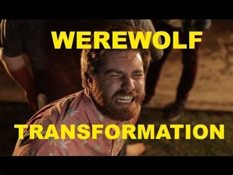 The Werewolf Transformation Youtube