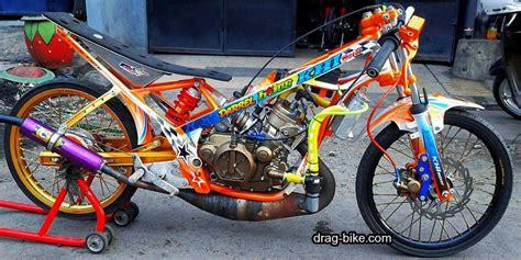 modifikasi motor drag liar ninja r 150 Sepeda