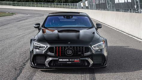 Meet the rocket 900, which although doesn't have a v12 engine like the tuner's previous rocket models, it still packs quite the punch. Brabus 900 Rocket auf Basis des Mercedes-AMG GT63 S | Motor1.com Fotos