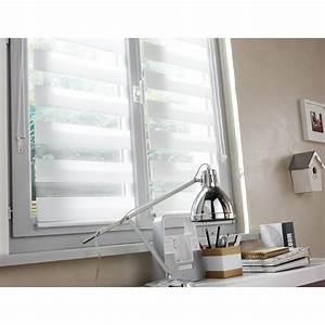 Store Pour Cuisine : store enrouleur jour nuit inspire blanc blanc n 0 55 x 160 cm leroy merlin ~ Farleysfitness.com Idées de Décoration