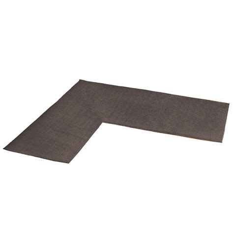 L Shaped Kitchen Rug by L Shaped Berber Corner Rug Runner By Collections Etc Ebay