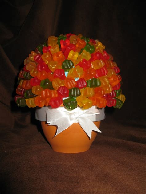gummy bears candy bouquet diy christmas gifts
