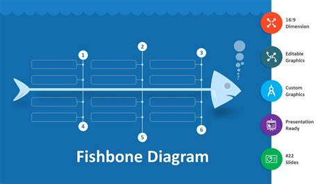fishbone diagram editable powerpoint template youtube