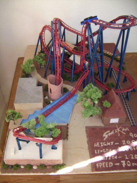 build  model roller coaster roller coaster theme