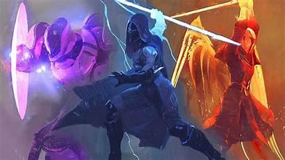 Destiny Hunter 4k Wallpapers Backgrounds Warlock Titan