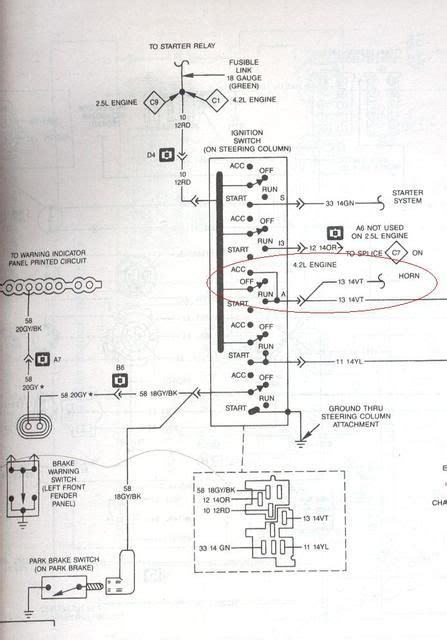1989 Jeep Ignition Switch Diagram by 89 Jeep Yj Wiring Diagram Jeep Wrangler Yj