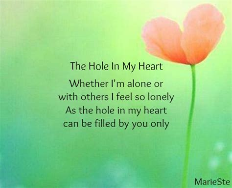 hole heart artwork grief left poems thegrieftoolbox mom miss friends him friend married missing