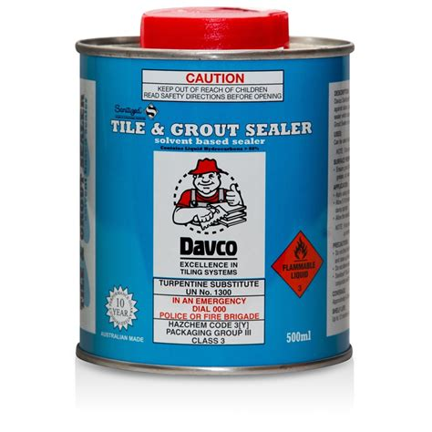 davco 500ml sanitized tile and grout sealer ebay