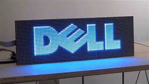 Digital Led Sign Kit Diy  5mm Pixels  Full
