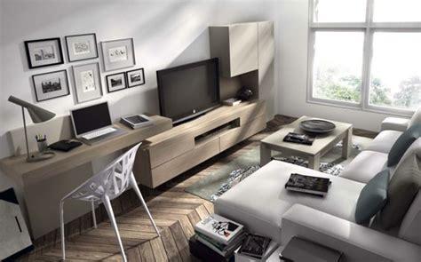 bureau dans salon coin bureau en bois massif dans le salon canapé d 39 angle