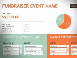 Productivity Tracker Excel Template Free Fundraising Event Template For Excel 2013