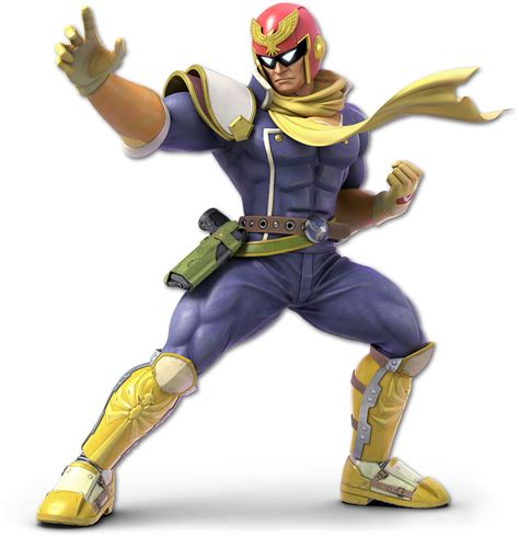 Image Ssb Ultimate Captain Falcon Renderpng Wikitroid