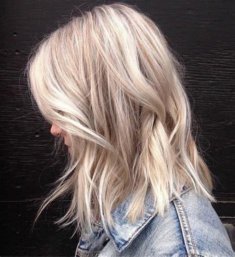 blond polaire meche 1001 looks qui vous font oser les cheveux couleur blond polaire