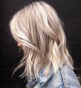 Ombre Hair Blond Polaire : 1001 looks qui vous font oser les cheveux couleur blond polaire ~ Nature-et-papiers.com Idées de Décoration