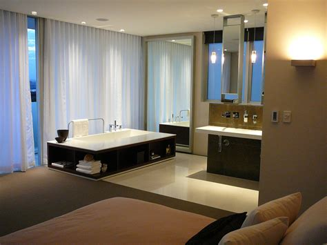 Modern Bathroom And Bedroom by Minosa The New Modern Design Parents Retreat Vs Ensuite
