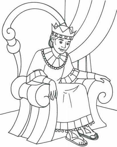 King Coloring Pages Olds