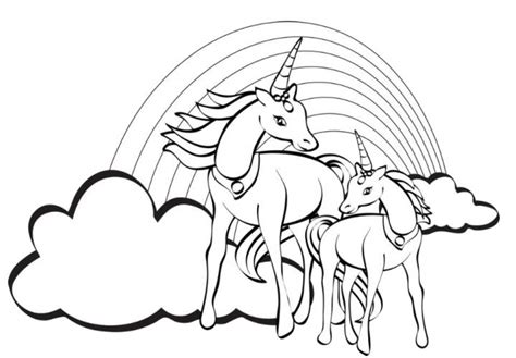 Get This Free Unicorn Coloring Pages 92377