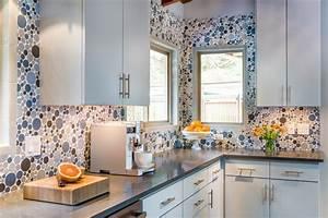cuisine cuisine grise plan de travail bois avec orange With cuisine grise plan de travail bois