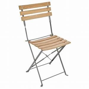 Chaise De Jardin Metal : fauteuil et chaise metal et bois achat vente fauteuil ~ Dailycaller-alerts.com Idées de Décoration