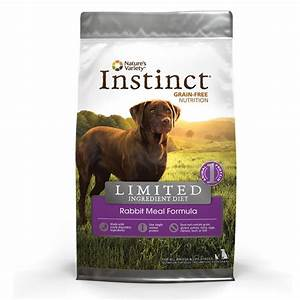 nature39s variety instinct limited ingredient diet rabbit With nature s variety dog food