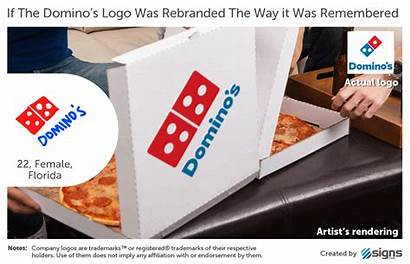 Logos Memory Famous Brand Brands Iconic Dominos