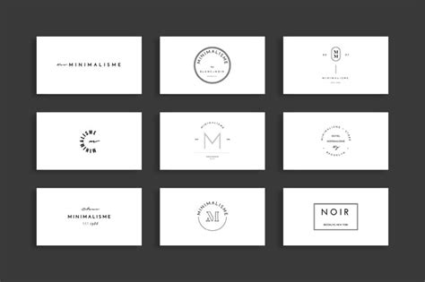 50 Minimalist Fashion Brand Logos