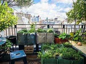 balcon terrasse jardin comment faire un potager femme With amenagement d une terrasse exterieure 13 balcon en ville conseils pour un petit balcon avec