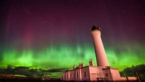 'Lucky combination' gives UK a dazzling Northern Lights ...