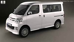 Daihatsu Luxio 2013 By 3d Model Store Humster3d Com