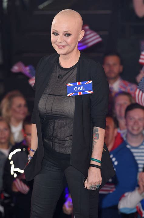 gail porter opens   life changing breast reduction