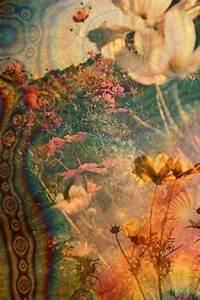 trippy psychedelic pattern tie dye sunflower sunflowers ...