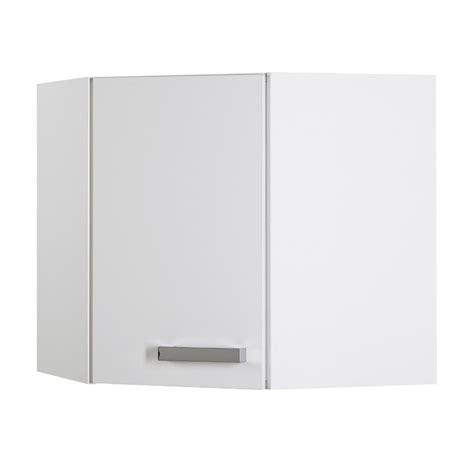 fixation meuble bas cuisine suny meuble d 39 angle haut 1 porte blanc achat vente