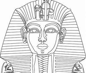 Pharaoh free vector download 19 free vector for for King tut mask template
