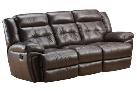 white leather reclining sofa brookside leather reclining sofa at gardner white