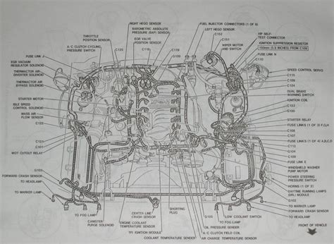 Mustang Detailed Engine Layout
