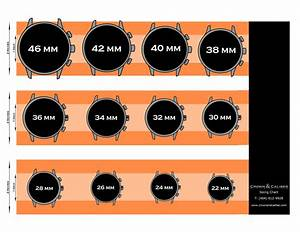 Watch Size Chart